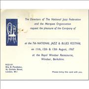 Click here for more info about 'Cream - 7th National Jazz & Blues Festival'