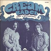Click here for more info about 'Cream - Badge'
