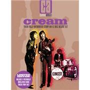 Cream Cream - The Fully Authorised Story UK 2-disc CD/DVD set