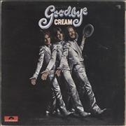 Click here for more info about 'Cream - Goodbye - EX'