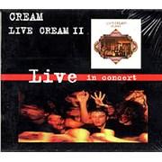 Click here for more info about 'Cream - Live Cream II'