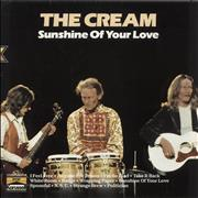 Click here for more info about 'Cream - Sunshine Of Your Love'