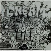 Cream Wheels Of Fire - Black Label UK 2-LP vinyl set