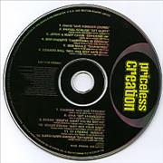 Creation Records Priceless Creation UK CD album Promo