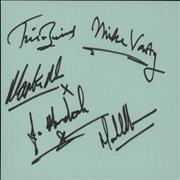 Click here for more info about 'Credo - Complete Set Of Autographs'