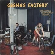 Click here for more info about 'Creedence Clearwater Revival - Cosmo's Factory - Textured Sleeve - EX'