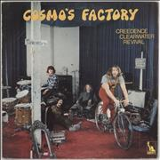 Click here for more info about 'Creedence Clearwater Revival - Cosmo's Factory - Textured Sleeve - VG'