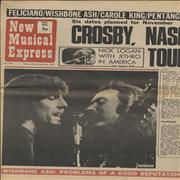 Click here for more info about 'David Crosby & Graham Nash - New Musical Express - October 1971 Issues'