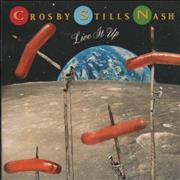 Click here for more info about 'Crosby, Stills & Nash - Live It Up'