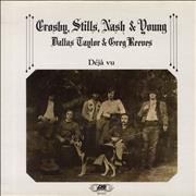 Click here for more info about 'Crosby Stills Nash & Young - Déjà Vu - VG'