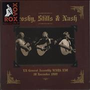 Click here for more info about 'Crosby Stills Nash & Young - UN General Assembly WXRK NYC 18 November 1989 - 180gm'