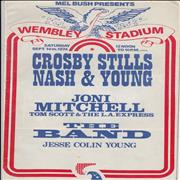 Click here for more info about 'Crosby, Stills, Nash & Young - Wembley Stadium 1974 + Ticket Stub'