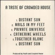 Click here for more info about 'A Taste Of Crowded House'