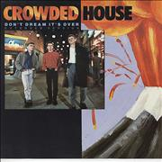 "Crowded House Don't Dream It's Over UK 12"" vinyl"
