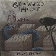 Crowded House Time On Earth - Sealed Deluxe Edition UK 2-CD album set