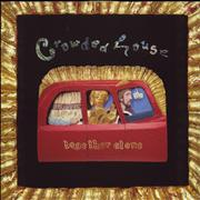 Crowded House Together Alone - VG+/EX- UK vinyl LP