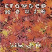 "Crowded House Weather With You UK 7"" vinyl"