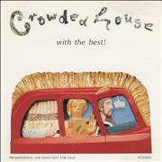 Crowded House With The Best Japan CD album Promo