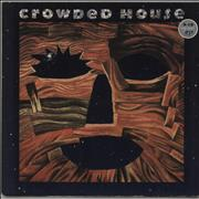 Crowded House Woodface - VG UK vinyl LP