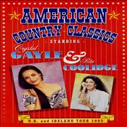 Click here for more info about 'Crystal Gayle - American Country Classics - UK & Ireland Tour - Autographed'