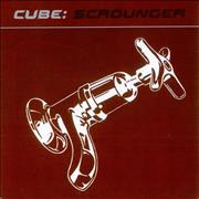 Click here for more info about 'Cube (90s) - Scrounger - White Marbled Vinyl'