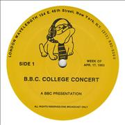 Click here for more info about 'Culture Club - BBC College Concert'