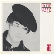 Click here for more info about 'Culture Club - Boy Talk 10'