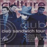 Click here for more info about 'Culture Club - Club Sandwich Tour + Ticket Stub'