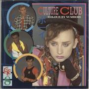Click here for more info about 'Culture Club - Colour By Numbers - Lyric + Merch Insert'
