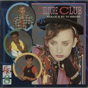 Click here for more info about 'Culture Club - Colour By Numbers - Lyric Insert'