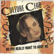 Click here for more info about 'Culture Club - Do You Really Want To Hurt Me - Autographed'
