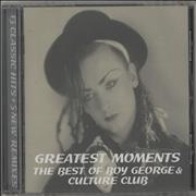 Click here for more info about 'Culture Club - Greatest Moment'