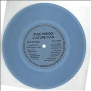 Click here for more info about 'Culture Club - I'll Tumble For You - blue flexi'