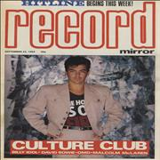 Click here for more info about 'Culture Club - Record Mirror'