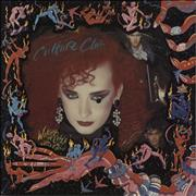 Click here for more info about 'Culture Club - Waking Up With The House On Fire + Insert'