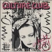 Click here for more info about 'Culture Club - White Boy - EX'