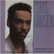 "Curtis Hairston The Morning After UK 12"" vinyl"