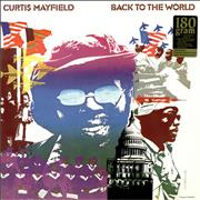 Click here for more info about 'Curtis Mayfield - Back To The World'