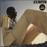Curtis Mayfield Curtis - Yellow Vinyl UK vinyl LP