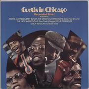 Curtis Mayfield Curtis In Chicago UK vinyl LP