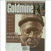 Click here for more info about 'Curtis Mayfield - Goldmine - July 1997'
