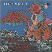 Curtis Mayfield Sweet Exorcist - 1st UK vinyl LP