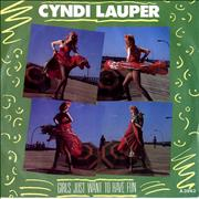 Click here for more info about 'Cyndi Lauper - Girls Just Want To Have Fun - Solid - P/S'