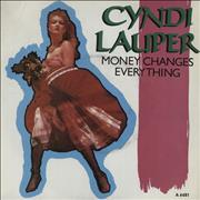 Click here for more info about 'Cyndi Lauper - Money Changes Everything'