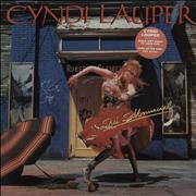 Click here for more info about 'Cyndi Lauper - She's So Unusual - Hype Stickered'