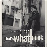Click here for more info about 'Cyndi Lauper - That's What I Think'
