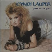 Click here for more info about 'Cyndi Lauper - Time After Time - Inj - P/S'