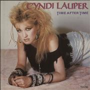 Click here for more info about 'Cyndi Lauper - Time After Time + p/s'