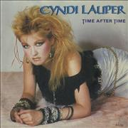 Click here for more info about 'Cyndi Lauper - Time After Time - Solid + Sleeve'