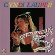 Click here for more info about 'Cyndi Lauper - You Make Loving Fun'